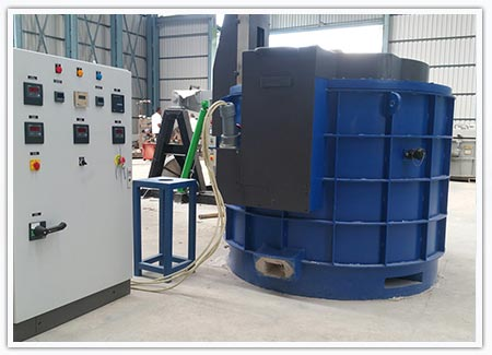 Mobile Electric Holding Furnaces
